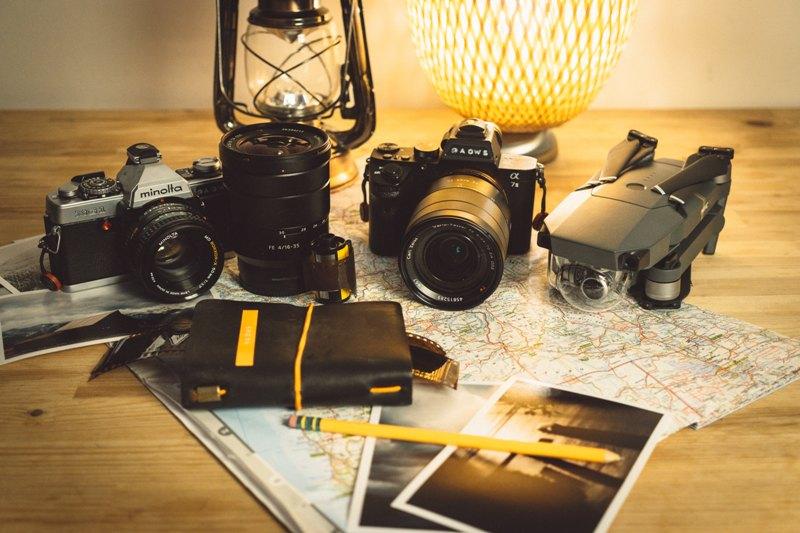Quel type d'appareil photo prendre en voyage